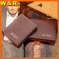 Luxury gentle Laser printing man wallets fashion hot selling man short designer wallets 5102-1