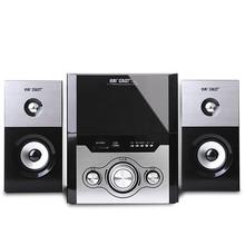 New 2014 Xianke t-668 active desktop speaker 2.1 notebook wool multimedia subwoofer audio  Free shipping
