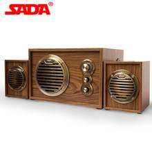 New 2014 Q4 multimedia active computer speaker desktop subwoofer wool sound 2.1  Free shipping