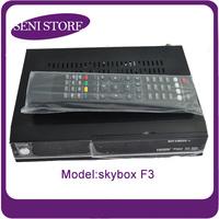 100% Original Skybox F3 Satellite receiver Dual-Core CPU Full HD DVB-S2 MPEG4 PVR ,Free Shipping