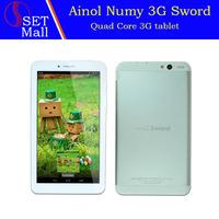 "7"" 7inch Ainol AX3 Quad core 3G phone call tablet pc android 4.2 MT8382 build in 3G GPS FM HDMI Bluetooth WIFI 1G 16G 1024*600"