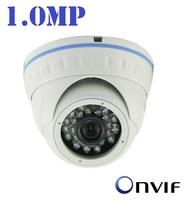 New ! Mini IP Outdoor Dome Camera P2P Night Vision 720P Waterproof IP66 Network 1.0MP HD CCTV Camera Onvif 2.0 + Free Shipping