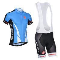 New 2014 Castelli cycling jesey /cycling clothing + cycling bib short sets -M7