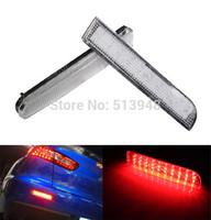 Free shipping LED Rear Bumper Reflectors Turn Brake Light  2008 and up Mitsubishi Lancer Evolution X;2011+ Mitsubishi Outlander