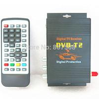 Speed upto100km/h~120km/h Car DVB-T2 Digital TV Receiver  DVB-T2 Car TV tuner  For Russia/Singapore/thailand etc