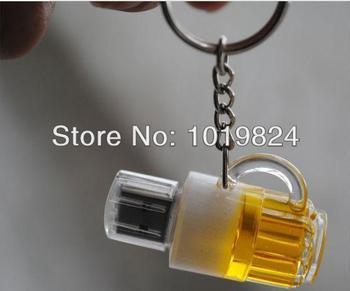100% real capacity  2GB 4GB 8GB 16G Genuine Capacity Cup Beer USB 2.0 Flash Memory ...
