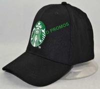 Promotional Gifts Cotton baseball cap with embroidered logo & Flex Fit band Customized