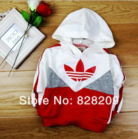 2014 New Spring Fashion Design Causal Hoodies Brand Hoody Baby Kids Hooded Hoodies Sweatshirts Top Quality Fit 0-9M 1Pcs/lot