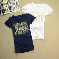 Free Shipping New 2014 brand tops for women t shirt women tshirt summer T-shirt o-neck short-sleeve polo women tee shirts