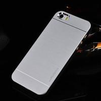 Brushed Aluminum Case For iPhone 5S iPhone 5 5G Luxury Hybrid Hard Back Metal Aluminium Cover For Apple iPhone 5 5S i Phone 5