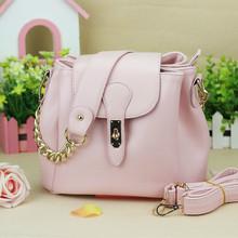wholesale pink leather messenger bag