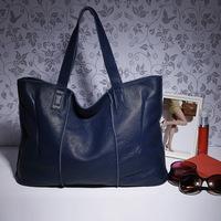 Top quality  Fashionable  vintage  women's cowhide handbag the trend of the big  one shoulder bag