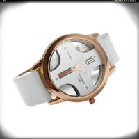 2015 New Brand Fashion cross dial watch High Quality Leather Strap Watches Men & Women dress atmos clock Nice Relogio Feminino