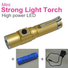 popular led rechargeable flashlight