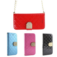 Wallet Flip Holster Mobile Phone Battery Housing Luxury Leather Case for Samsung Galaxy Note 4 N9100