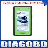 Super Performance Original CareCar C68 Retail DIY Professional Auto Diagnostic Tool Best Scanner Cover Almost Car Model