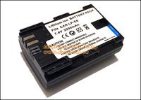 Digital Rechargeable Battery LP-E6 LPE6 LP E6 for Canon EOS 5D Mark II 2 / III 3 6D 60D / 60Da 7D 7D2 7DII 70D DSLR Cameras
