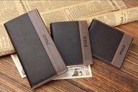 Polo wallet male genuine leather short wallet design men's cowhide wallet horizontal wallet male wallet