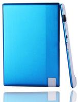 100pcs/lot wholesale blue color 850mah mobile power bank for smartphone 4.8mm battery charger