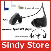 W262 enhance version MP3 music player waterproof mp3 player head wireless 16GB 2012 new