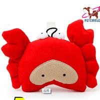 Fashion Brand Red Crab Pet Dog Toys For Puppy Small Animals 9963TT Sound Chihuahua Bulldog Cat Accessories Product