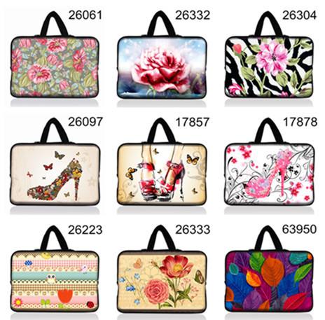 Notebook Laptop sleeve Handbag bag For lady's women tablet Computer PC 15 inch case LOGO Customizable(China (Mainland))