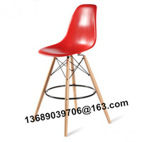 Free shipping european style eames bar chair 108cm high legs bar stool eames bar chair 2PCS/PACK
