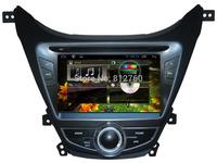 Pure Android 4.2 Car DVD for Hyundai Elantra Avante I35 Capacitive screen GPS Navigation Ipod BT TV Radio RDS Wifi Free shipping