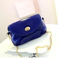 2014 women bags fashion women's messenger bags women's leather bags chain bag pu leather Free Shipping