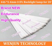 Free shipping NEW  20.1 inch wide sreen LCD CCFL lamp backlight ,446MM*2.4mm CCFL backlight tube