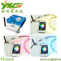 Wifi control RGB LED strip + 10m 5050 led rgb strip no waterproof