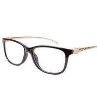 Eyeglasses Frame 2014 New Brand Designer Women Men's Fashion Eye Glass Decoration Reading Glasses Snake Eyewear Plain Mirror