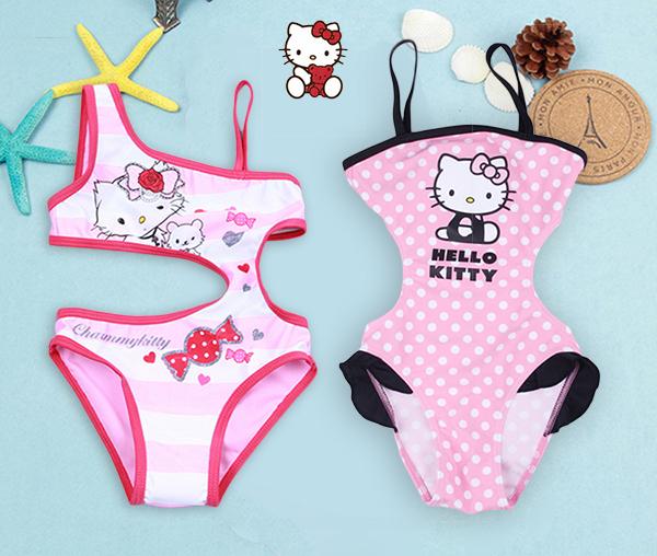 Font b girls b font swimwear kids swimsuit one piece baby font jpg