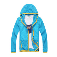 Summer Children outerwear Jacket Outdoor UV Protection Kid Clothes baby Hiking hoodies coats and jackets for Boy and Girl