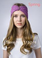 Free Shipping Fashion Hair Assessories  Felt Flower Headband Bohemian Style Elastic Headbands New Headwear