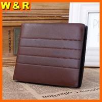 2014 designer purses man leather patchwork purses fashion man credit card purses 3612-04#