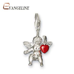 Diy Ts Fashion Charms Bracelet Alloys Fashion Enamel Jewelry Cupid Pendant Ts765
