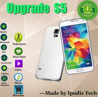 Best 1:1 Original LOGO I9600 G900 S5 phone MTK6592 Octa Core android Kitkat 4.4 1920x1080 16MP 32GB ROM Fingerprint waterproof