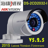 free shipping Original Hikvision ip  camera DS-2CD2032-I Ip Camera POE 3MP mini Bullet camera HD IP Camera  1080P