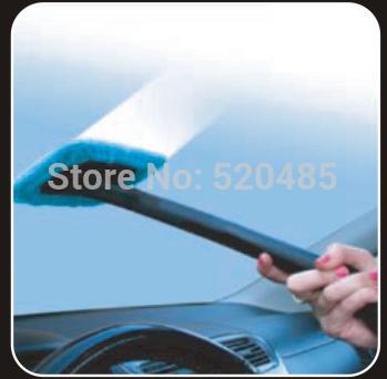 T20132b MaxPower V8 Windshield Clean Fast Easy Shine Car Auto Wiper Cleaner Glass Window Brush New 100% Microfiber(China (Mainland))