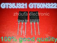 Free shipping 5pcs GT35J321 + 5pcs GT50N322 50N322 100% in stock