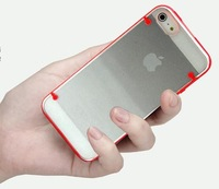 YGSJK-03: Luminous Acrylic shell For Apple iphone 4 4S 4G Case Transparent Protective Cover