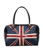 wholesale New Fashion  British Style women leather handbag  Union Jack Flag women handbag large capacity shoulder bags
