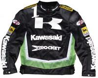 Free shipping the new 2014 kawasaki cycling clothing Mesh cloth racing clothes in summer Breathable motorcycle clothing