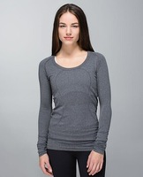 NWT Super Quality Cheap women Yoga  long sleeves, Discounted Hot Sale Yoga Tank/Vest/Tops for Women size xs-xl Free shipping