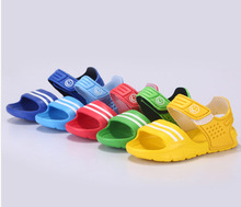 Summer children sandals slip-resistant wear-resistant small boy casual sandals girls boys shoes child summer sandals(China (Mainland))