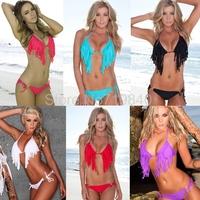 New 2014 summer women beach bandage push up swimwear bikinis set DM051
