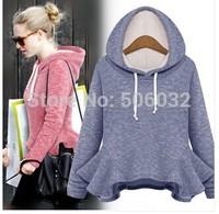 2014 New Woman WinterClothes Women Sweatshirts Hoodies Leopard Pullovers Top Outerwear Sportswear Coats Moleton Feminino Roupas