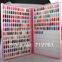 Nail salon equipment Elegant Nail Lacqucer Color Chart Display Borad, 360color Necessary Nail art tools for Luxurious Nail Salon