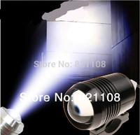 Free shipping  White CREE 12V-60V / 30W LED U2  Motorcycle Day Work Spot Light Headlamp Off Road Headlights Rogue lights